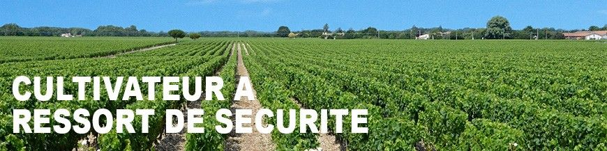 Cultivateur A Ressort de Sécurité